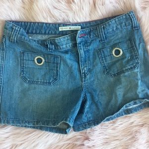 tommy hilfiger high waisted shorts